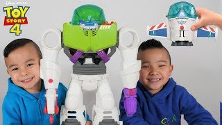 BUZZ LIGHTYEAR Robot Spaceship Toy Story 4 Unboxing With CKN Toys