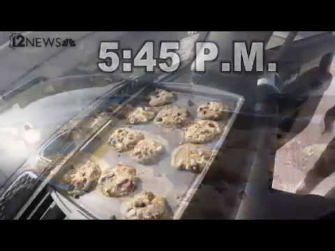 Phoenix heat wave: Cookies and more bake on a car dashboard