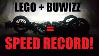 Fastest Lego Technic 2018, BuWizz speed record breaker