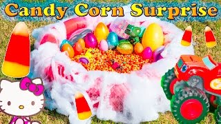 CANDY CORN Surprise Eggs Worlds Largest Candy Corn Paw Patrol Surprise Eggs Video
