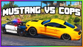 GTA 5 Roleplay - Trolling Cops With NEW Mustang | RedlineRP