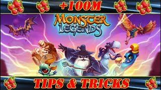 HOW TO GET 100M+ FREE FOOD ON MONSTER LEGENDS 2018 (NO HACK) TIPS & TRICKS!