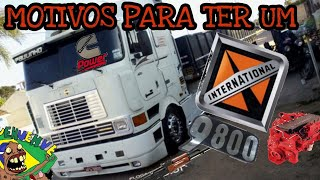 MOTIVOS PARA TER UM INTERNATIONAL 9800