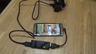 """How to use android apk """"camerafi live"""""""