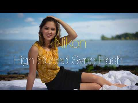 Nikon High Speed Sync flash on a D750 Portrait Shoot