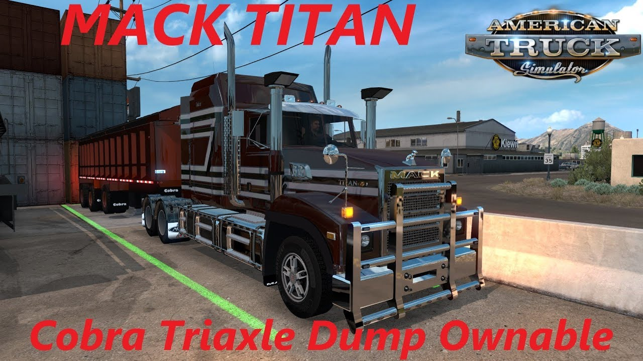 small resolution of american truck simulator mack titan cobra triaxle dump