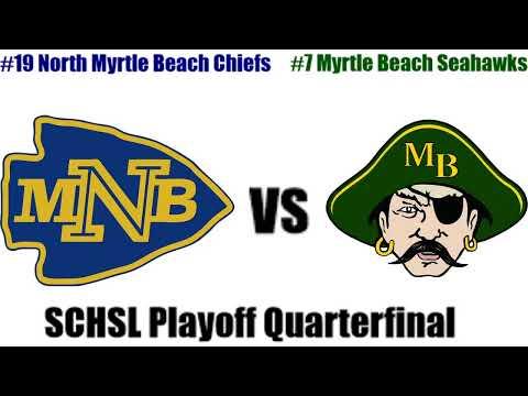 Boys High School Basketball - North Myrtle Beach Chiefs Vs. Myrtle Beach Seahawks - 2/25/2020