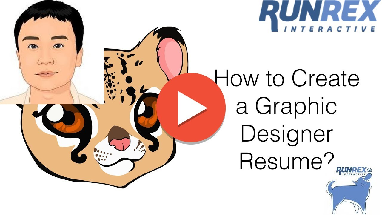 How To Create A Graphic Designer Resume Youtube
