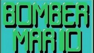 Bomber Mario (Bomberman Hack)-Gameplay.Dendy NES.