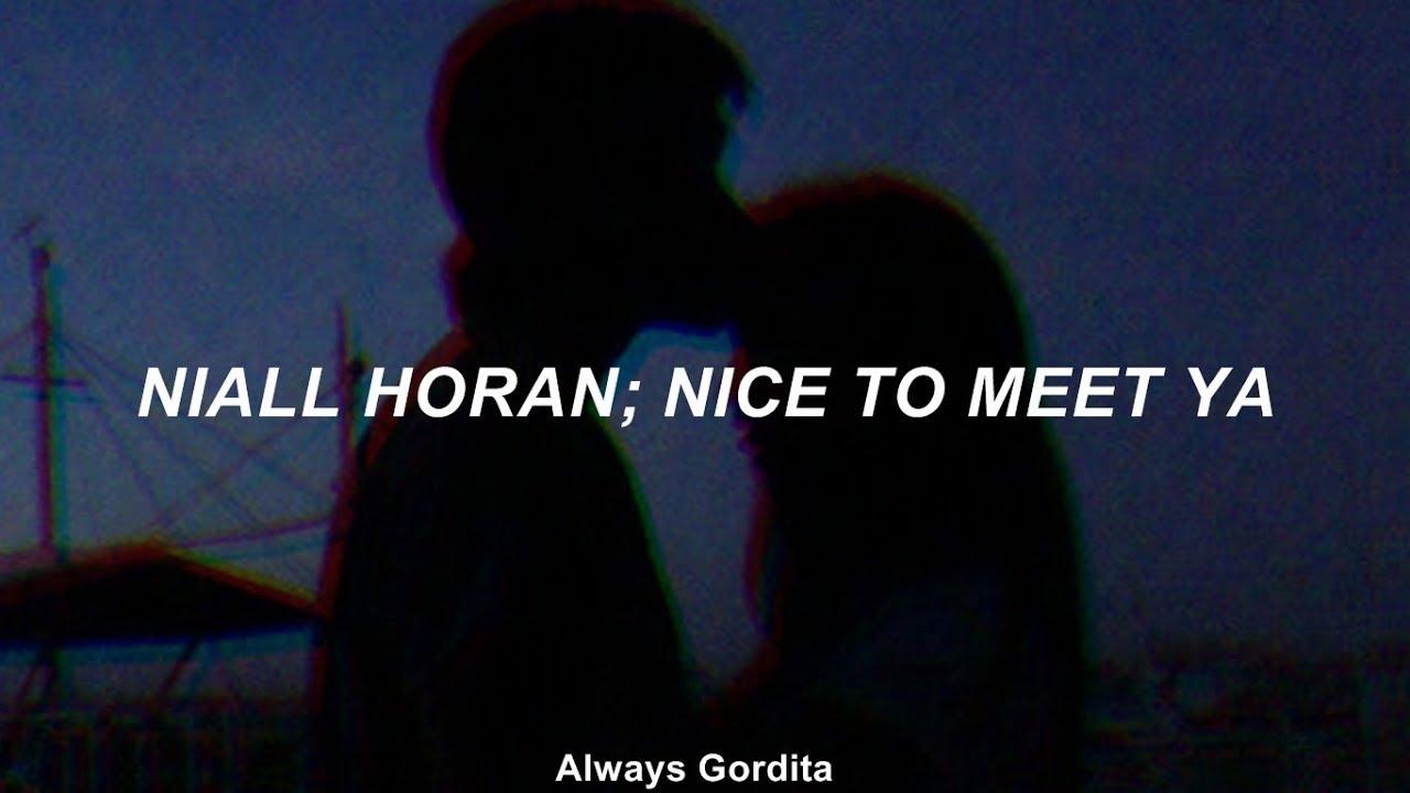 Niall Horan - Nice To Meet Ya (Traducida al Español)
