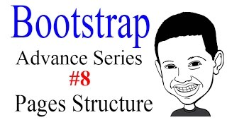 Advance Bootstrap Tutorial With PHP #8: Pages Structure &  Respond.js