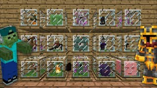 Minecraft DANGEROUS TINY FARM MOD / FIND YOUR ANIMALS AND BREED THEM IN YOUR HOUSE !! Minecraft