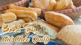 Cách làm Bánh Tiêu, Giò chéo quẩy