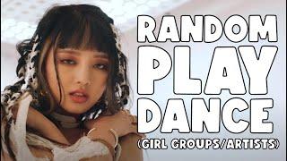 KPOP RANDOM PLAY DANCE CHALLENGE (GIRL GROUPS/ARTISTS) | capsojiin