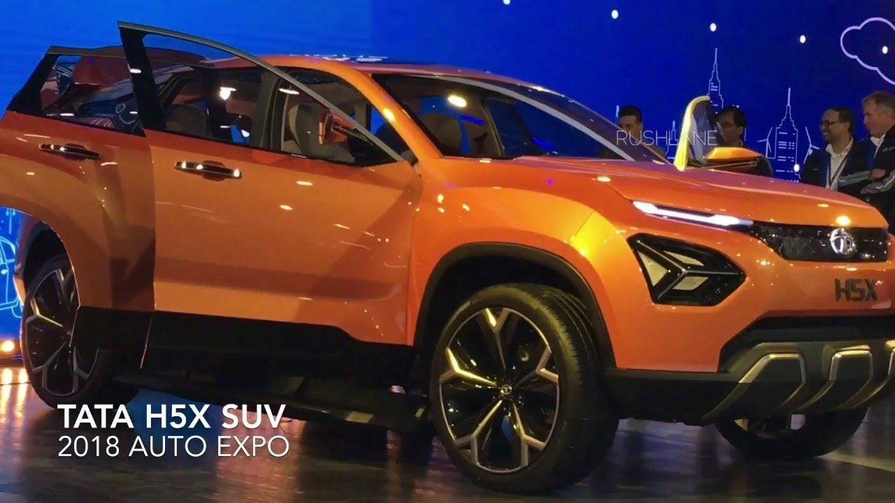 New Tata Safari 2018 Price >> Tata H5X 2018 (New Safari) - YouTube