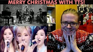 Girls Generation TTS - Winter Story Acoustic + Merry Christmas REACTION | SNSD X-MAS SPECIAL PART 1