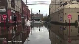 Hoboken flooding after water main break