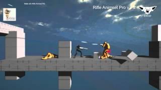 Rifle Animset Pro v1.2 - Sidescrolling controller