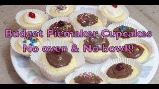 Budget Pie Maker Cup Cakes No Oven No Bowl