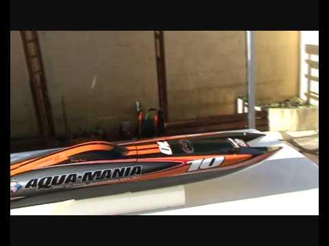 Rc Twin Turbine Mystic C5000 Powerboat Miss Longlite Brutal