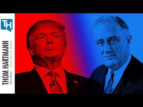 Organized Money Is  Dangerous To Democracy (w/Guest President Franklin Delano Roosevelt)