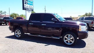 "2008 Chevrolet Silverado 1500 LT Crew Cab Lifted 20"" Rims 18380"