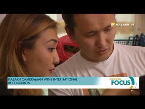 Kazakh cameraman wins international recognition