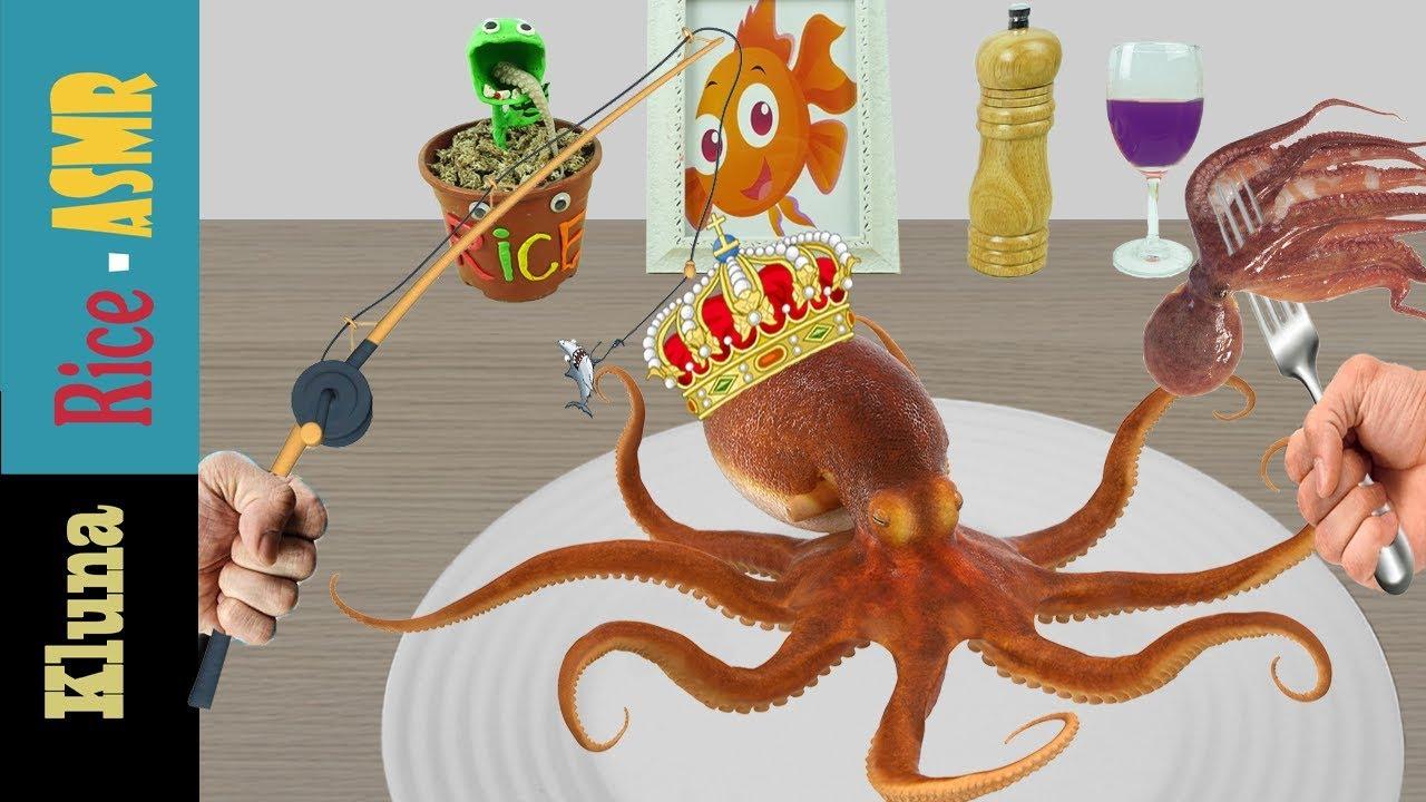 Kluna Tik Incredible Octopus Kluna Tik Style Dinner 41 Asmr Eating Sounds No Talk