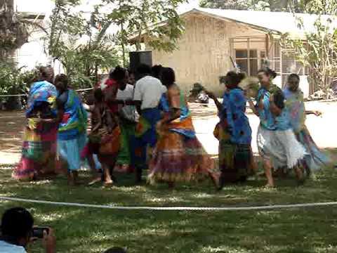 Vanuatu dance group