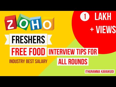 Zoho interview tips for freshers 2019 off campus interview