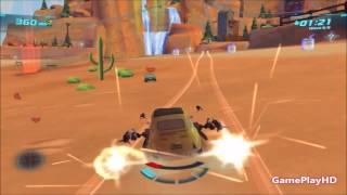 Arabalar 2 / Cars 2 PC Oyunu - Luigi - Timberline Sprint - Attack (HD)