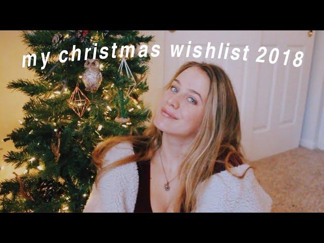 My Christmas Wishlist 2018 Youtube
