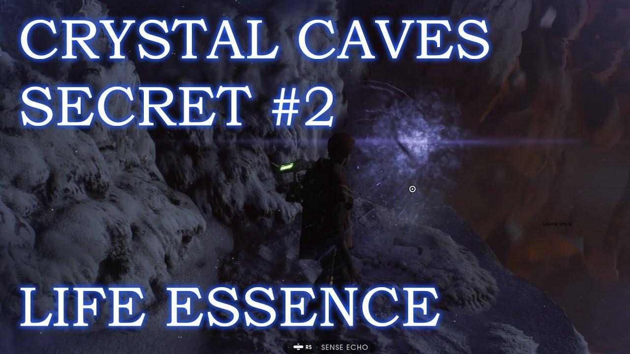 Star Wars Crystal Caves On Ilum Roblox Star Wars Fallen Order Ilum Crystal Caves Secret 2 Youtube