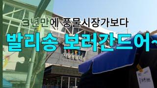 3년만에 다시가본 그곳!! (서울풍물시장