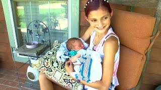 12-year-old girl helps deliver baby brother