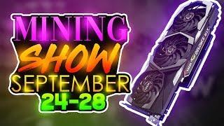Daily Crypto Mining Show 9-24-18
