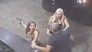 Woman Pulls Out Gun During Road Rage Incident [CAUGHT ON CAMERA]