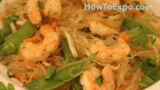 Thai Noodle Salad With Shrimp Learn How To Make Thai Noodle Salad With Shrimp