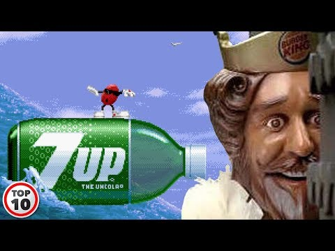 Top 10 Video Games That Are Just Ads