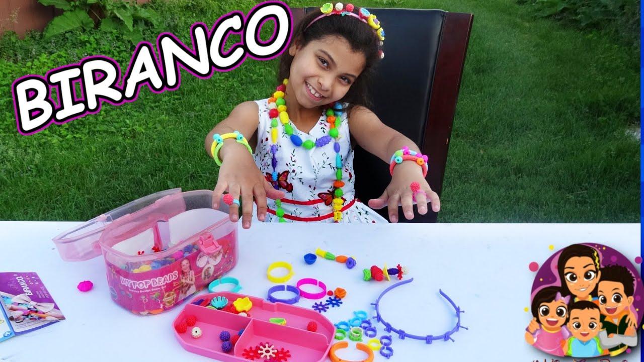 DIY Pop Beads By BIRANCO - Kids DIY Activities During Quarantine