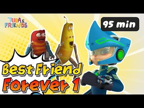 [TUBAn FRIENDS] BEST FRIEND FOREVER 1 | DinoCore | Larva | Cartoon | Full Episodes