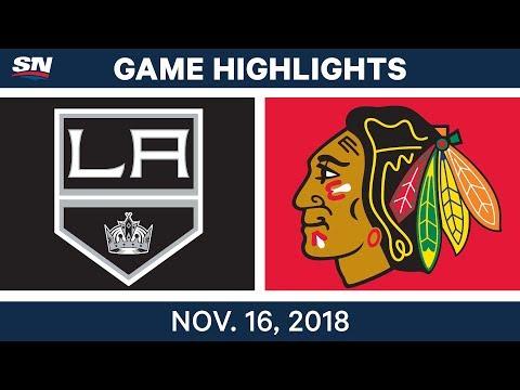 NHL Highlights | Kings vs. Blackhawks – Nov. 16, 2018