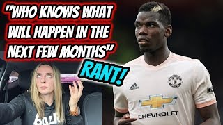 """POGBA - """"WHO KNOWS WHAT WILL HAPPEN IN THE NEXT FEW MONTHS"""""""