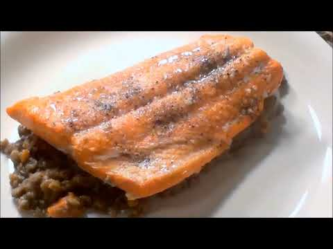 A Favourite Cookbook And A Recipe For Roasted Salmon And Lentils