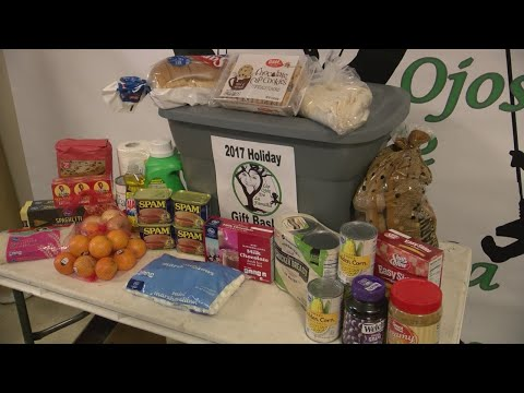 Local organization delivers holiday gift baskets to families in need