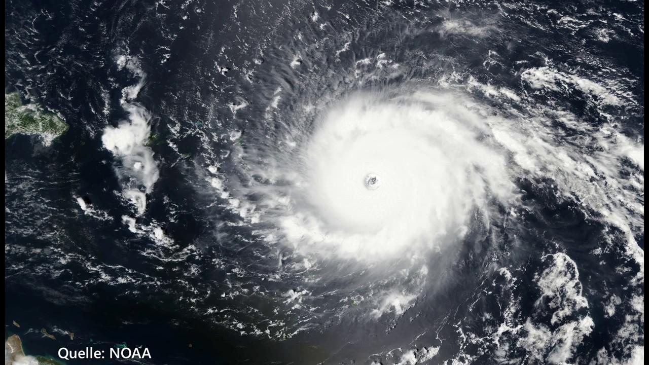 Satellitenbild Der Woche Kat5 Hurrikan Irma September