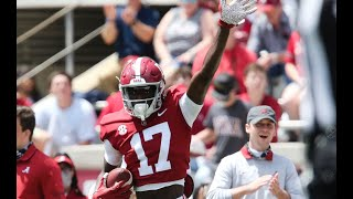 Alabama Crimson Tide Football Spring Game Highlights | SEC News | CFB News