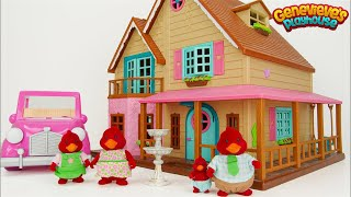 Kids, let's Learn Common Words with Woodzeez Toy Dollhouse!