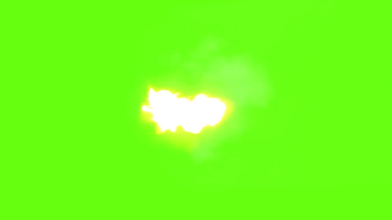 Green screen muzzle flash gunshot realistic video overlay effect free download