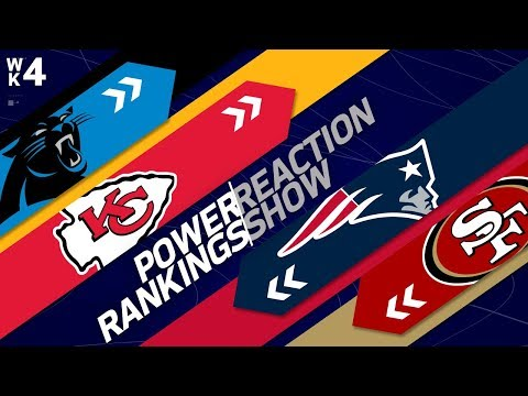 NFL Power Rankings Reaction Show: Eagles Too High in Ranking? | Week 4 | NFL Network